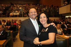 Edinho Silva e Marcia Lia